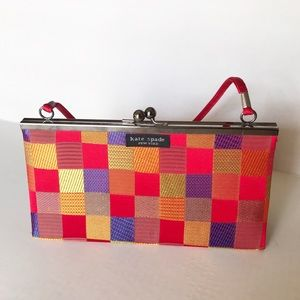 Kate Spade | Vintage Kiss Lock Checkerboard Bag